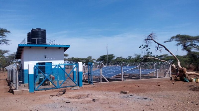 Lorukumo Solar Mini-piped System in Moroto District