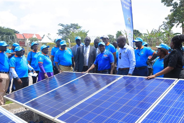 Hand over of Solar PV Energy Packages to Umbrella of Water and Sanitation Authority Central